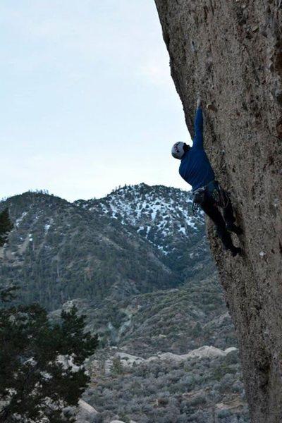Rock Climbing Photo: Attitude Wall. Unknown climb