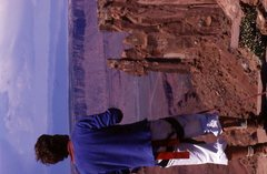 Rock Climbing Photo: moab---good old times