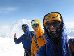 Rock Climbing Photo: Mark, Vito and I on the summit of Mount Hunter aft...
