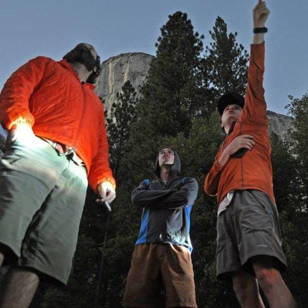 Rock Climbing Photo: El Cap Meadow