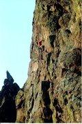 Rock Climbing Photo: SB.