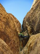 Rock Climbing Photo: Austin on Chicken Lips, p6.