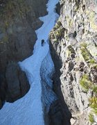 Rock Climbing Photo: crescent moon couloir, CA