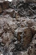 Rock Climbing Photo: 12/7/13. After 5 days of sub-freezing temps.