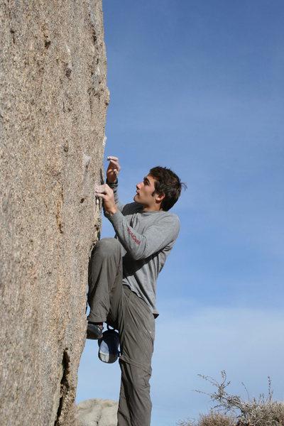 Rock Climbing Photo: Sunshine Boulder
