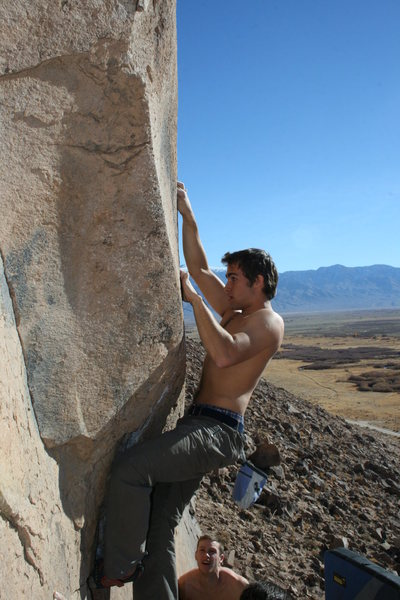 Hard Crack (V4) in the Happies