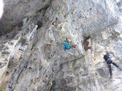 Rock Climbing Photo: Swiss Cheese
