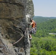 Rock Climbing Photo: USA, Poko Moonshine, The Garter traverse