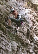Rock Climbing Photo: USA, Kentuky, Red River Gorge, One Brick Shy