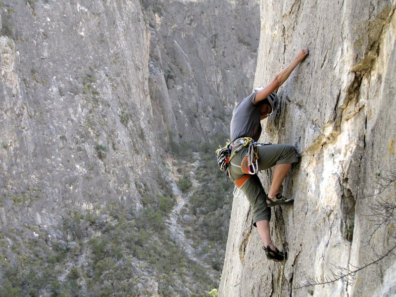 Rock Climbing Photo: Mexico, El Potrero Chico The Popsicle Kings