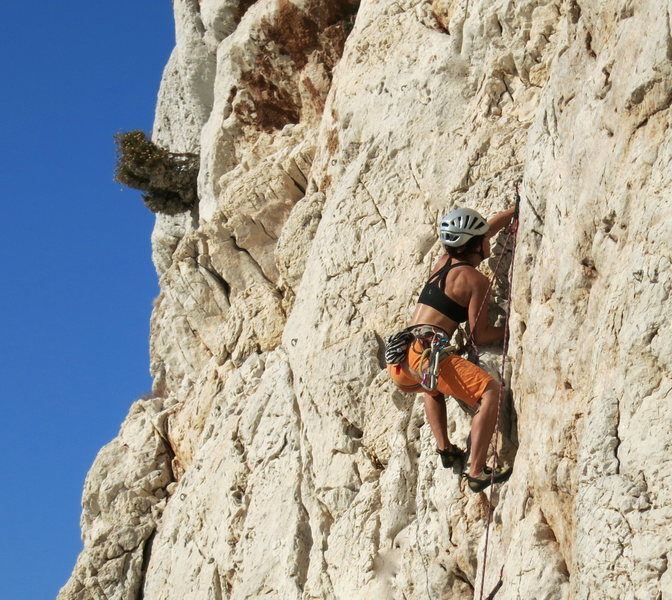 Rock Climbing Photo: Greece, Kalymnos, Dolphin Bay