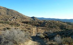Rock Climbing Photo: The road to Deep Creek, San Bernardino Mountains
