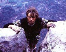 Rock Climbing Photo: Layton Kor topping out on the Salathe Wall, Yosemi...