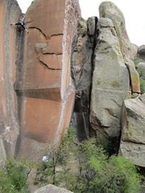 Rock Climbing Photo: Not My Cross to Bear