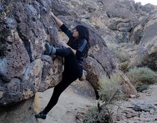 Rock Climbing Photo: Maricela R
