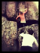Rock Climbing Photo: Random climb in idyllwild