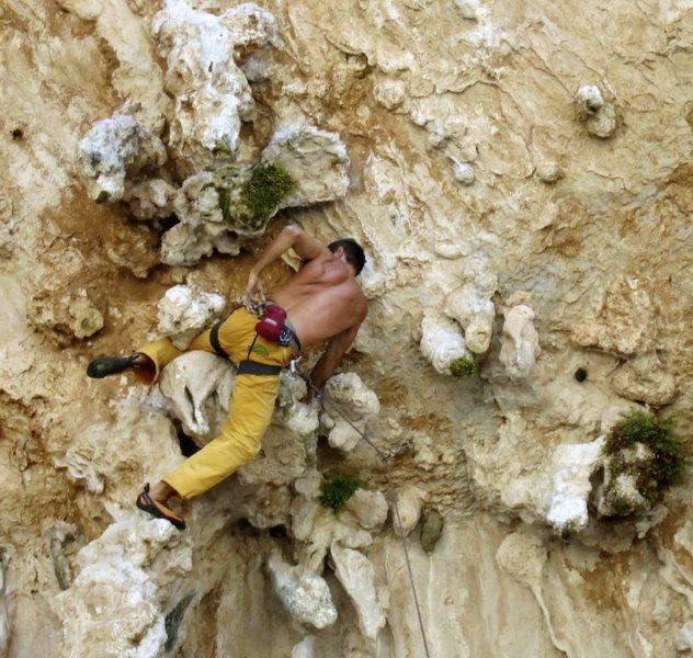 Rock Climbing Photo: Nicola on Elefantenhimmel