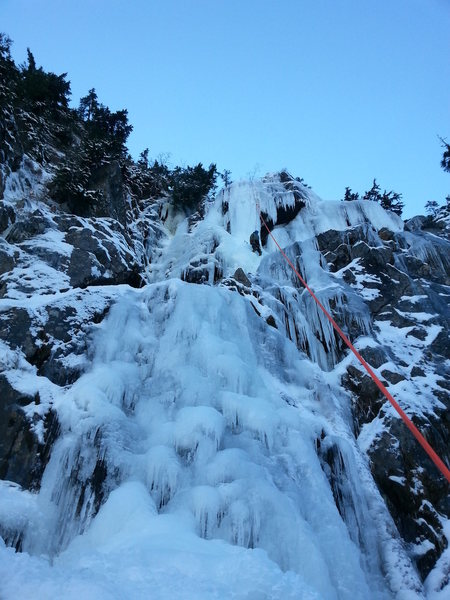 Alpental ice cragging