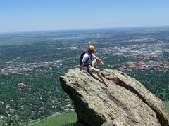 Rock Climbing Photo: I think this is at the top of The Spy.