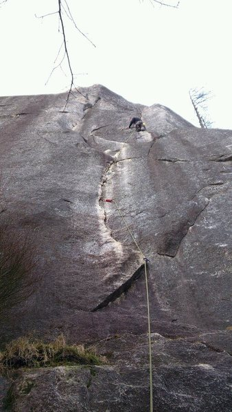 climb and punishment 5.10d