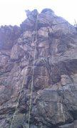 Rock Climbing Photo: a random pitch we found in a random un named part ...