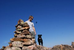Rock Climbing Photo: carin on holy cross
