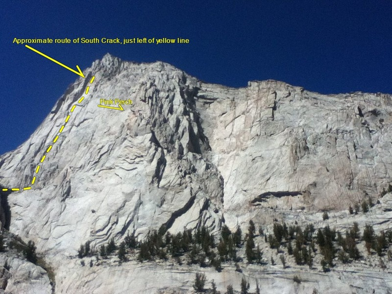 Rock Climbing Photo: Thor Peak, southeast face