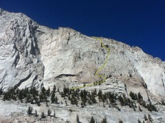 Rock Climbing Photo: Thor Peak, The Stem Winder, I, 5.4