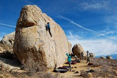 Rock Climbing Photo: Buttermilks