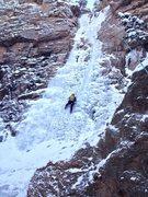 Rock Climbing Photo: Slade Bradbury. P2 Hully Gully.