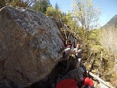 Rock Climbing Photo: The FA of Inja Da Ninja