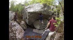 Rock Climbing Photo: The start of Inja Da Ninja