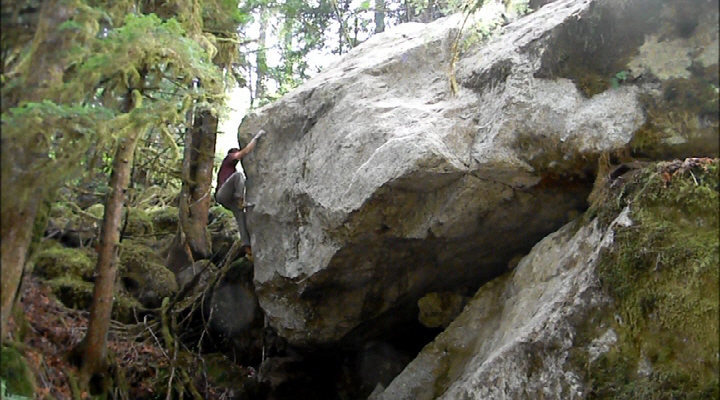 Rock Climbing Photo: GC on the FA of Tomorrow Never Knows. A super grea...