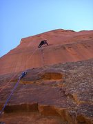 Rock Climbing Photo: the glorious pitch 7