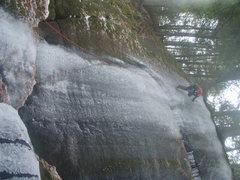Rock Climbing Photo: Ian Osteyee doing his thing