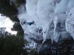 Rock Climbing Photo: rapping down Chouinard's