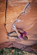 Rock Climbing Photo: Intruder, 5.11+. Zion National Park. Photo: Matt K...