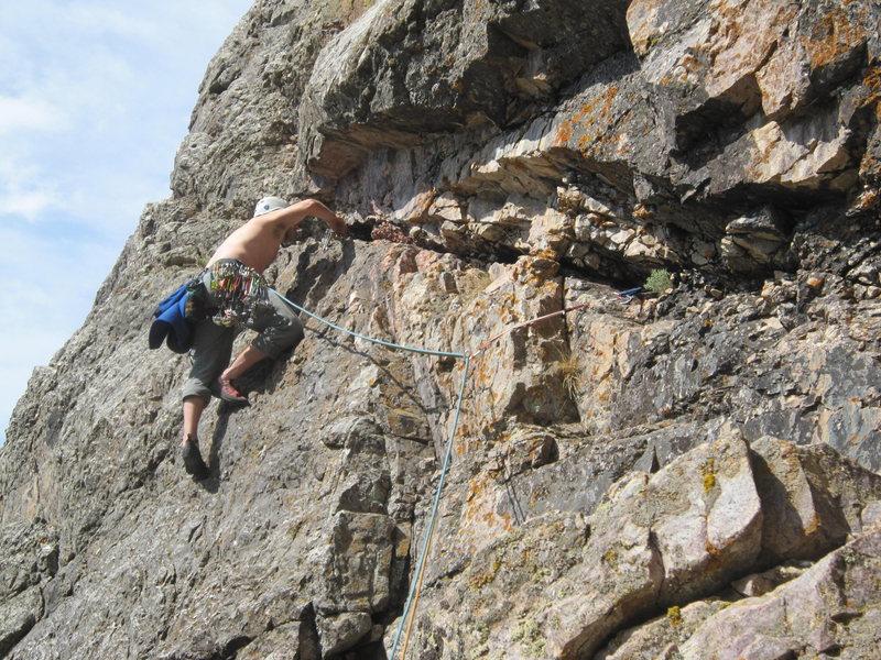 Rock Climbing Photo: Nuggernaut
