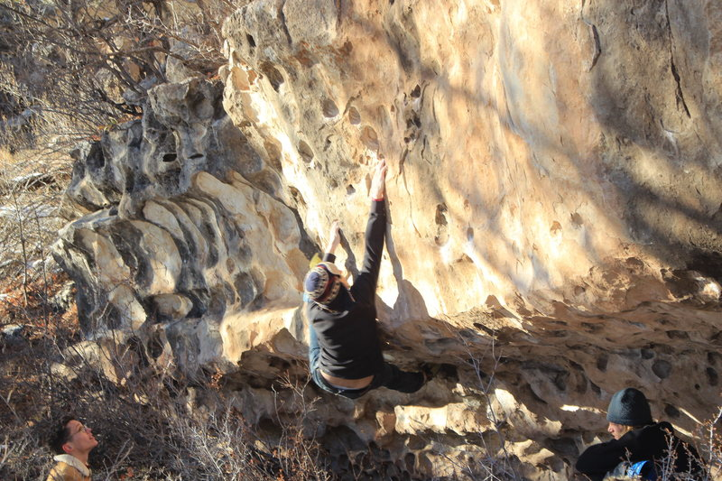 Rock Climbing Photo: yoker