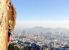 Rock Climbing Photo: Beacon Hill, Hong Kong