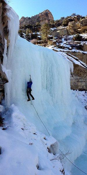 Rock Climbing Photo: Deadbolt curtain