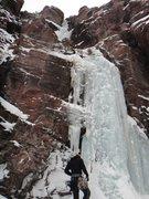 Rock Climbing Photo: Direct North Face, November 2013.