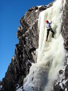 Rock Climbing Photo: Started brittle, sunhit at 10, slushy by 11 - 12/1...