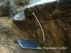 Rock Climbing Photo: The Diamond Cutter