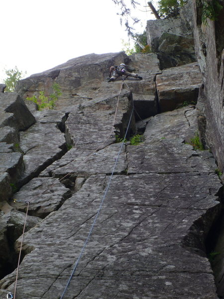 Rock Climbing Photo: Deadwater