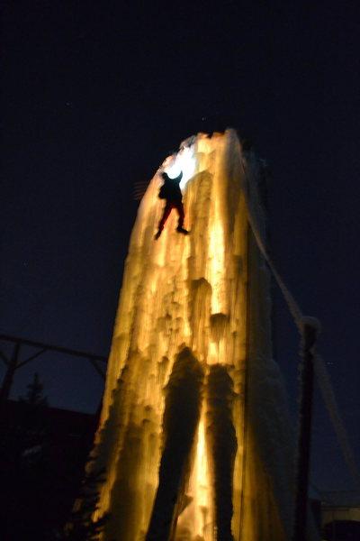 Rock Climbing Photo: ice