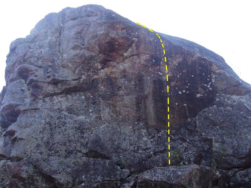 Rock Climbing Photo: Pit fall