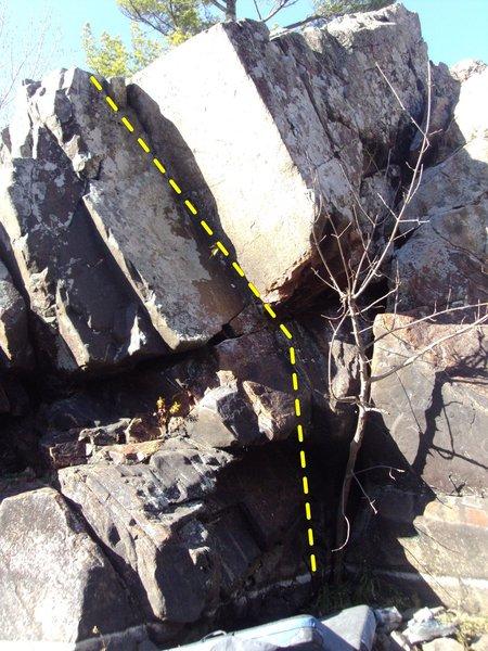 Rock Climbing Photo: Fresh press
