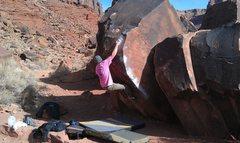 Rock Climbing Photo: CRIMP!