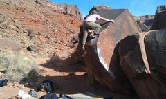 Rock Climbing Photo: TOP OUT!!!